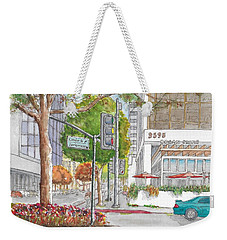 Wilshire Blvd. And Camden Dr. In Beverly Hills, California Weekender Tote Bag
