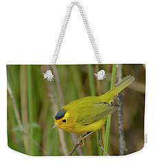 Wilson's Warbler Weekender Tote Bag by Doug Herr