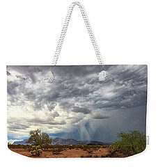 Weekender Tote Bag featuring the photograph Wind And Rain by Rick Furmanek