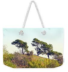 Wind Blown Trees Weekender Tote Bag