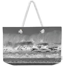 Wind Blown Waves Weekender Tote Bag