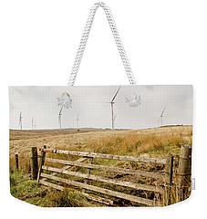 Wind Farm On Miller's Moss. Weekender Tote Bag