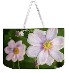 Wind Flower Weekender Tote Bag by Kim Andelkovic