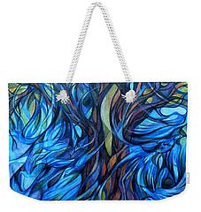 Wind From The Past Weekender Tote Bag