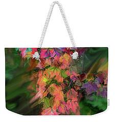Wind In The Maple Weekender Tote Bag
