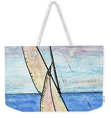 Wind In The Sails Weekender Tote Bag by R Kyllo