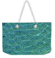 Wind Over Water Weekender Tote Bag