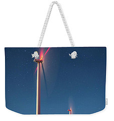 Weekender Tote Bag featuring the photograph Wind Power by Cat Connor