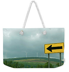 Wind Power. Direction Of Energy. Weekender Tote Bag