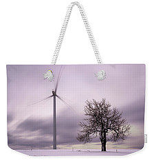 Wind Power Station, Ore Mountains, Czech Republic Weekender Tote Bag