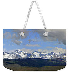 Dm9504-wind River Range Panorama  Weekender Tote Bag