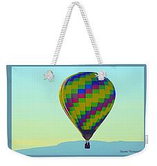 Wind Sailing Weekender Tote Bag