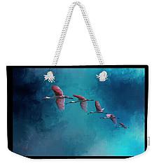 Wind Surfing Weekender Tote Bag