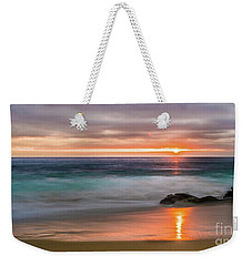 Windansea Beach At Sunset Weekender Tote Bag