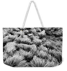Windblown Grass Weekender Tote Bag