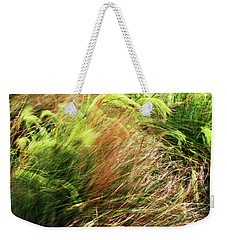 Windblown Grasses Weekender Tote Bag
