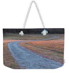 Winding Road Weekender Tote Bag