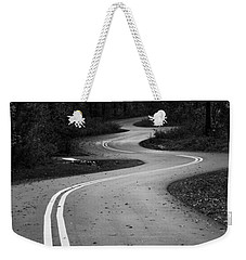 Weekender Tote Bag featuring the photograph Winding Simplicity by Parker Cunningham