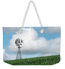Windmill And Bird Weekender Tote Bag