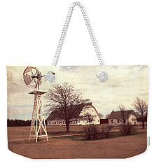 Windmill At Cooper Barn Weekender Tote Bag by Julie Hamilton