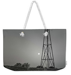 Weekender Tote Bag featuring the photograph Windmill At Dawn by Robert Frederick