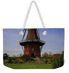 Windmill At Tulip Time Weekender Tote Bag by Rachel Cohen
