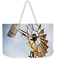 Windmill In The Sky Weekender Tote Bag by Dawn Romine
