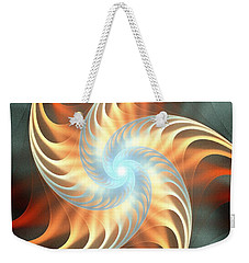 Weekender Tote Bag featuring the digital art Windmill Toy by Anastasiya Malakhova