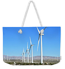 Windmills And Blue Skies Weekender Tote Bag