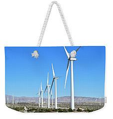 Windmills And Blue Skies Weekender Tote Bag