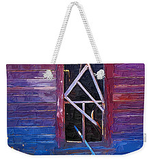 Weekender Tote Bag featuring the photograph Window-1 by Susan Kinney