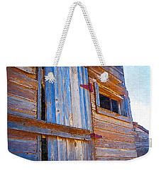 Weekender Tote Bag featuring the photograph Window 3 by Susan Kinney
