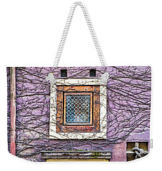 Window And Vines - Prague Weekender Tote Bag