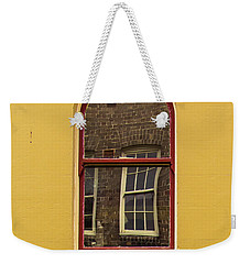 Weekender Tote Bag featuring the photograph Window And Window 2 by Perry Webster