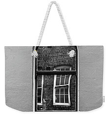 Weekender Tote Bag featuring the photograph Window And Window by Perry Webster
