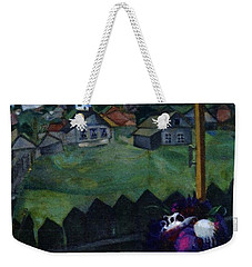 Window At Vitebsk Weekender Tote Bag