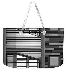Vertical Horizontal Abstract Weekender Tote Bag