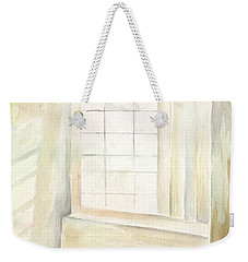 Weekender Tote Bag featuring the painting Window by Darren Cannell