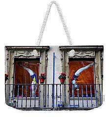 Window Dressing 2 In Florence Italy Weekender Tote Bag