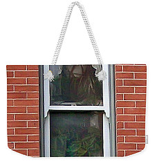 Weekender Tote Bag featuring the photograph Window Dressing by Brian Wallace