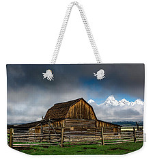 Weekender Tote Bag featuring the photograph Window In The Storm by Scott Read