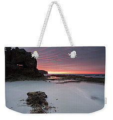 Window On Dawn Weekender Tote Bag by Mike  Dawson