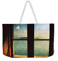 Window Overlooking The Sea Weekender Tote Bag