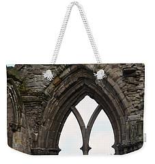 Window Ruins At Holyrood Abbey Weekender Tote Bag