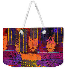 Window Shopping Weekender Tote Bag by Angela L Walker