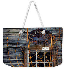 Weekender Tote Bag featuring the photograph Window Shopping by Kendall McKernon