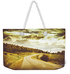 Window To A Rural Road Weekender Tote Bag