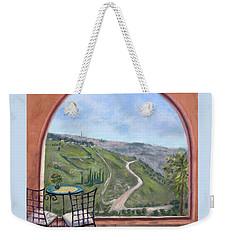Window To Jerusalem Weekender Tote Bag
