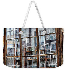 Window To The Past Weekender Tote Bag by AJ Schibig