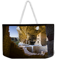 Window To The Past Weekender Tote Bag